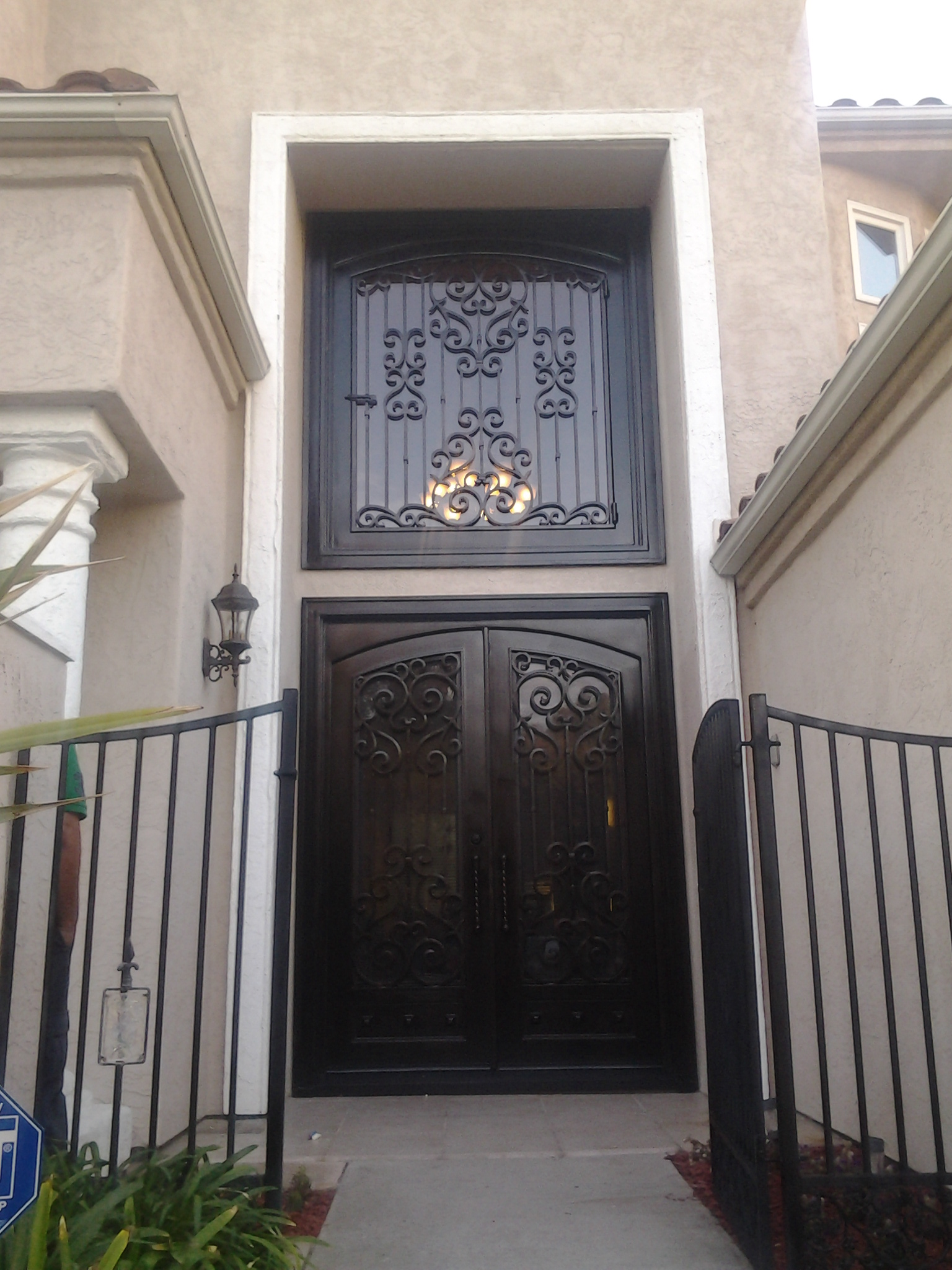 Baja Doors Hand Forged Wrought Iron In San Diego Custom